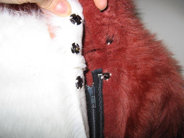 Modifying a fursuit for sex