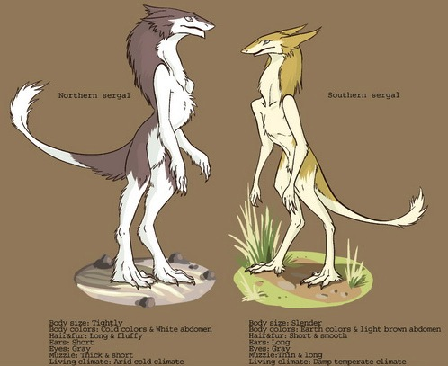 File:Sergal comparison.jpg