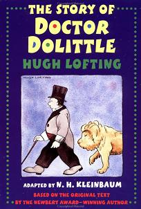 Front cover of one of many editions of The Story of Doctor Dolittle