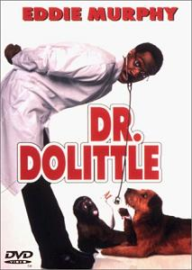 Front cover of Doctor Dolittle (1998) DVD.