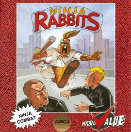 File:Ninja Rabbits for Amiga.jpg