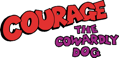 File:Courage the Cowardly Dog logo.png