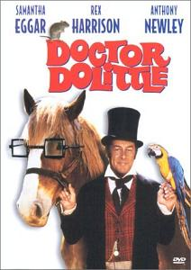Front cover of Doctor Dolittle (1967) DVD.