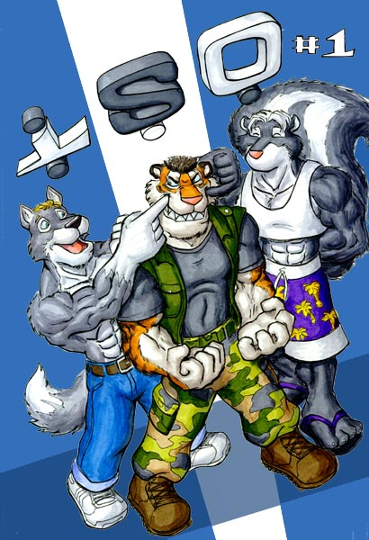 Gay comic furry