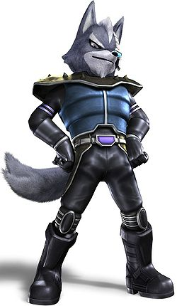 Wolf in Star Fox: Assault.
