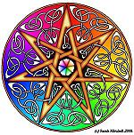 The Elven Star, a symbol of otherkin.