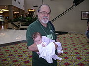 - 180px-Steve_simmons_and_granddaughter