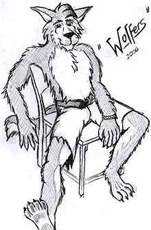 Wolfers, As drawn by himself