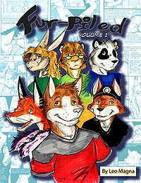 FurPiled volume 1 front cover