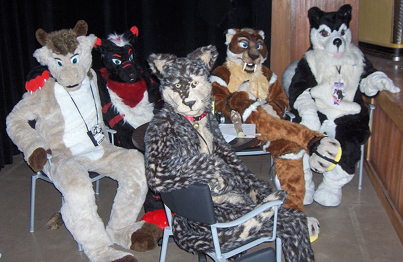 File:GR AC2007 Furry Tales fursuit table.jpg