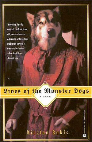 Lives of Monster Dogs US edition cover art