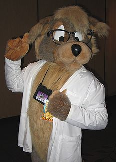 Yippee Coyote at Anthrocon 2007