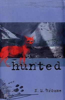 Hunted cover art (hardback edition)