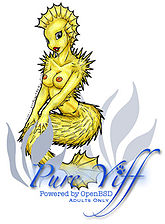 PureYiff was an online art archive solely for adult furry art.