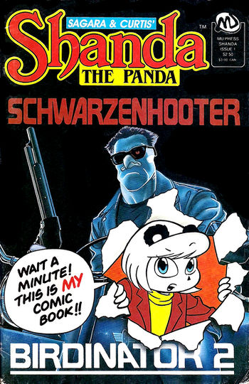 Shanda The Panda #1 cover
