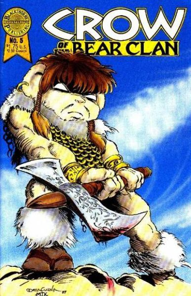 File:Crow of the Bear Clan -1 cover.jpg