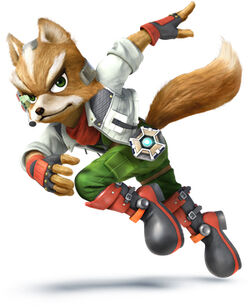 Fox McCloud in Star Fox: Assault.