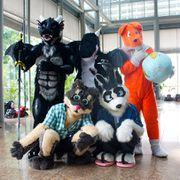 Fursuiters at STGCC 2011