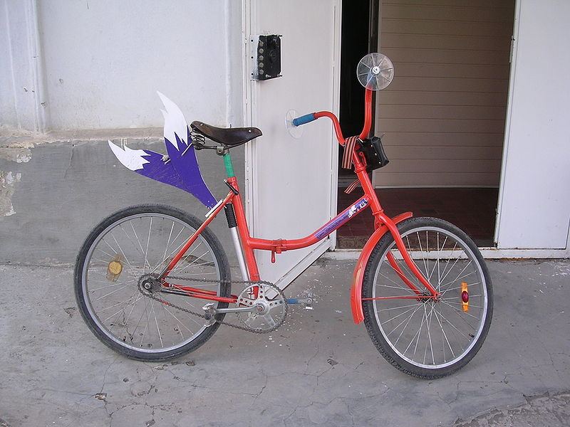 File:Hayao Yokogawa's bike with tails.jpg