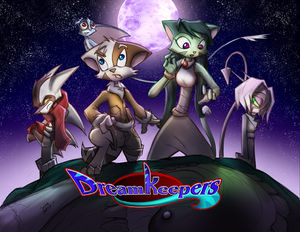 A promotional poster for Dreamkeepers