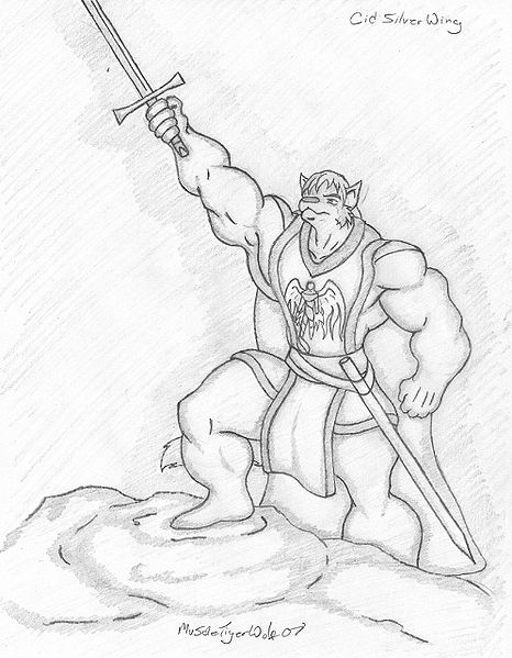 File:Muscletigerwolf - BW Sketch of Cid.jpg