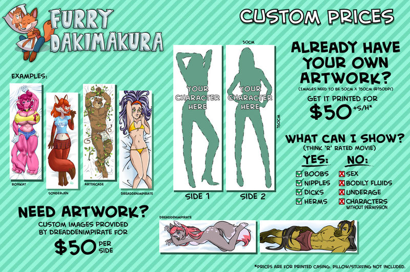 File:Furry Dakimakura flier price list.jpg