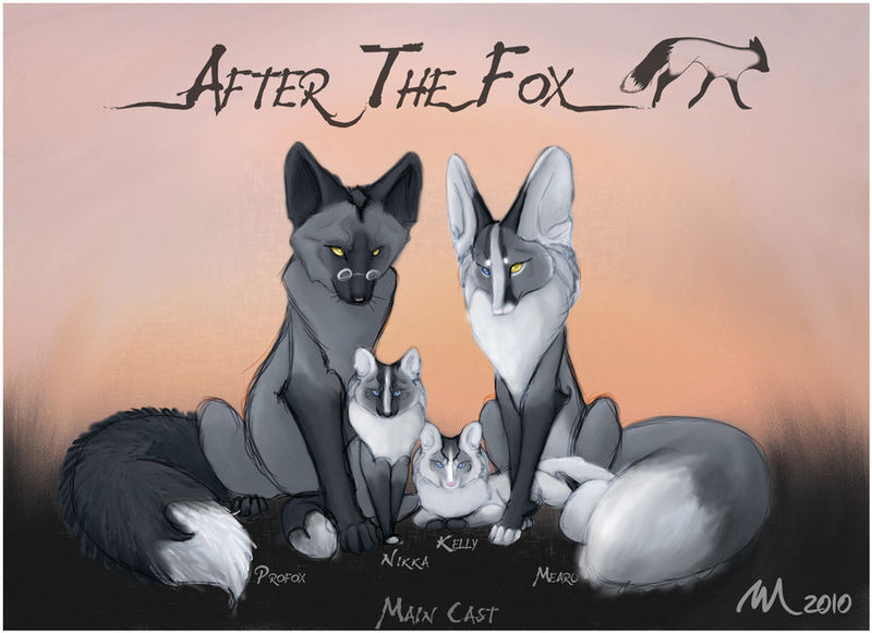 File:After the Fox Main Cast by Mearu.jpg