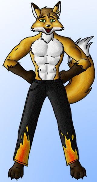 Wolfie Fox Wikifur The Furry Encyclopedia