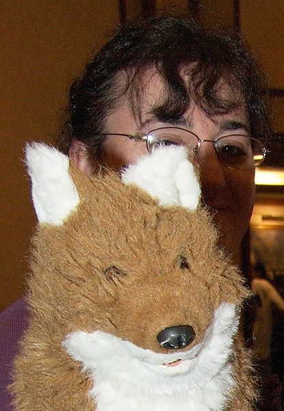 File:GR MFF2007 Spectra headshot with fox pawpet.jpg