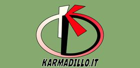 The Karmadillo's logo