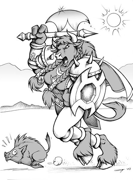 Tauren (fictional spec...